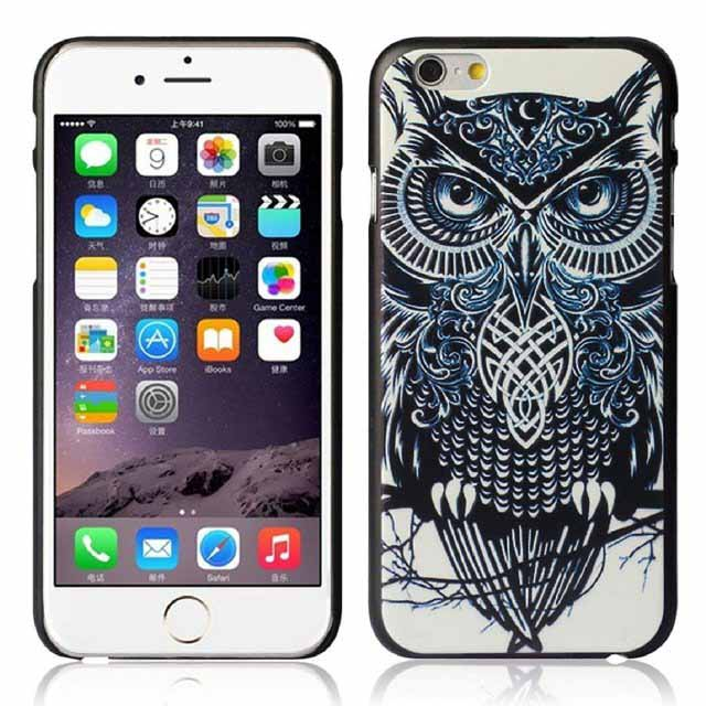 Mallom Cute Owl Hard Back Case for iPhone 6