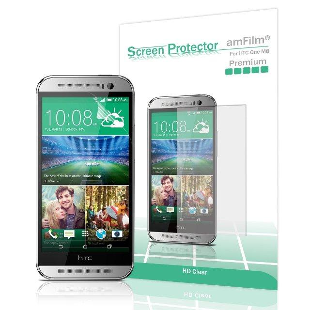 amFilm HTC M9 Screen Protector