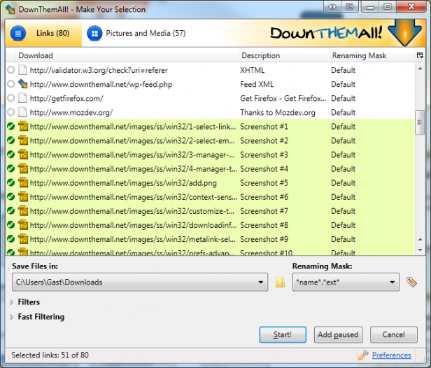 firefox-addons-downthemall