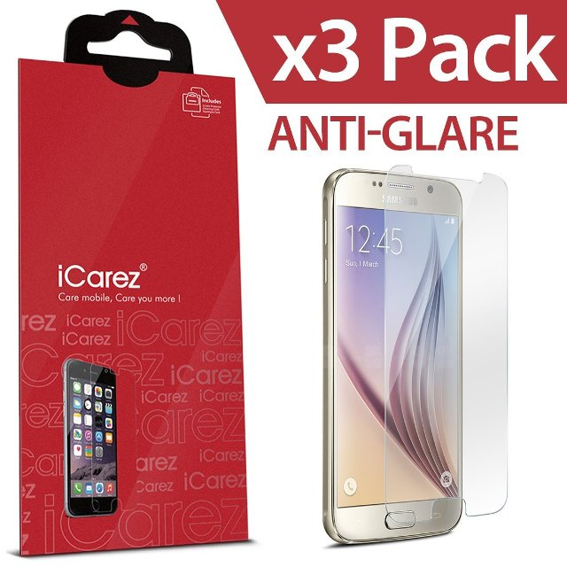 iCarez HD Anti Glair Galaxy S6 Screen Protector