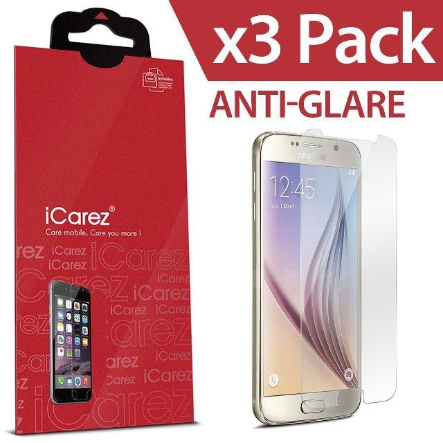 iCarez HD Anti Glair Galaxy S6 Screen Protector