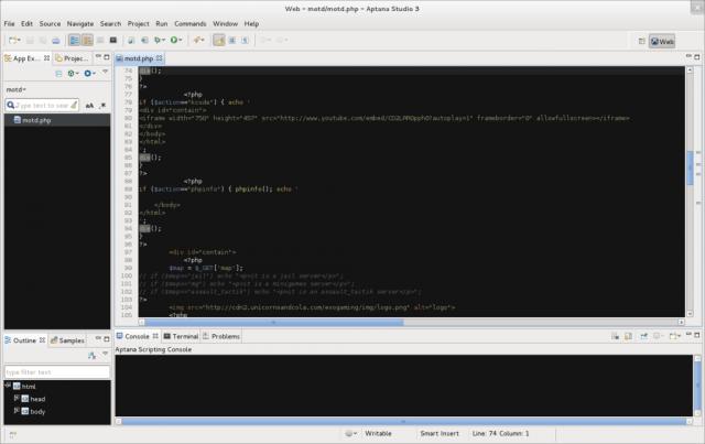 linux-apps-aptana
