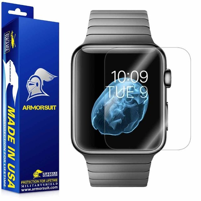 ArmorSuit MilitaryShield Apple Watch Screen Protector