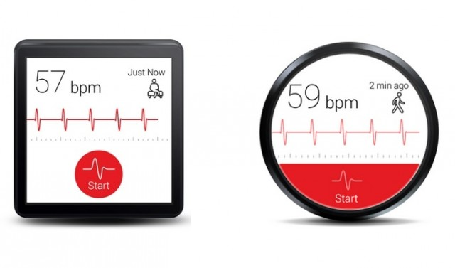 Cardiograph Android Wear