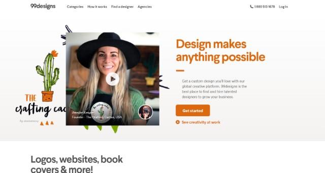99design - Best Freelancing Websites
