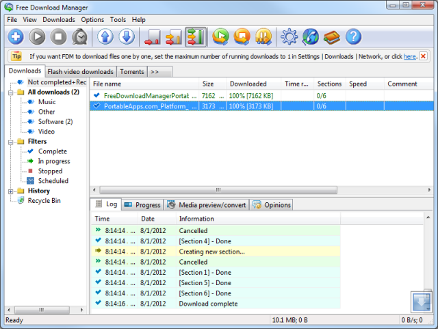 FreeDownloadManagerPortable