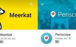 Meerkat vs. Periscope