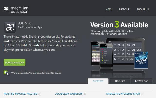 English pronunciation app mac