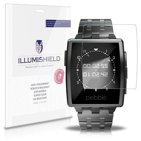iLLumiShield-Pebble-Screen-Protector