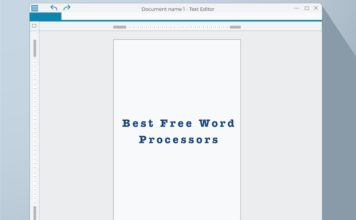 10 Best Free Word Processors You Can Use