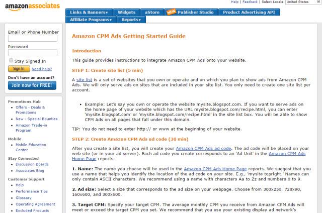 Amazon CPM