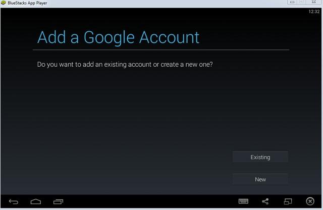 Bluestacks Add a Google Account