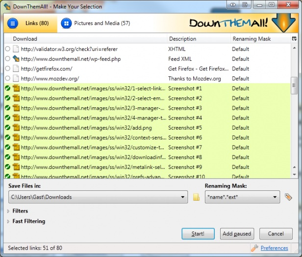 how to clear completed downloads on jdownloader