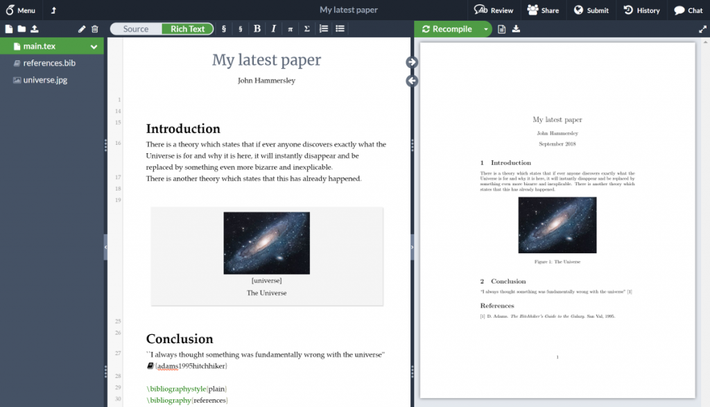 10 Best Latex Editors You Should Use in 2019 | Beebom