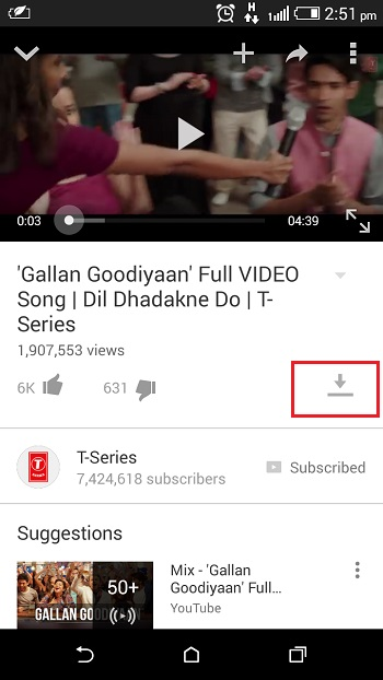 Watch YouTube Offline on Android