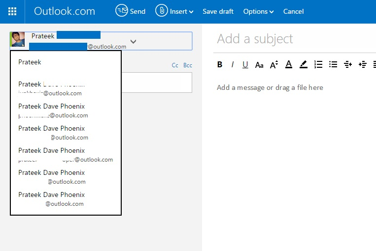 all alias of outlook