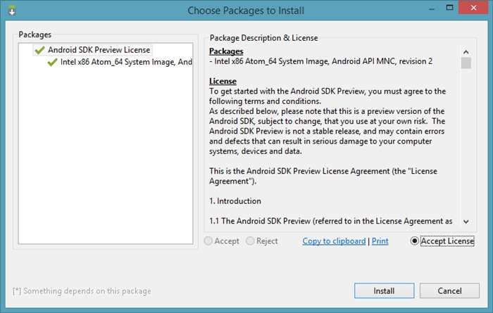 How To Run Android M on Windows?