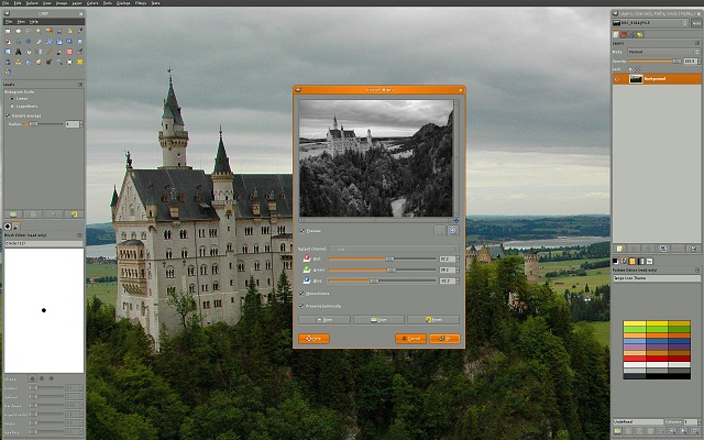 gimp - best photo editing software