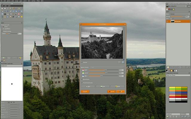 gimp - best photo editing software
