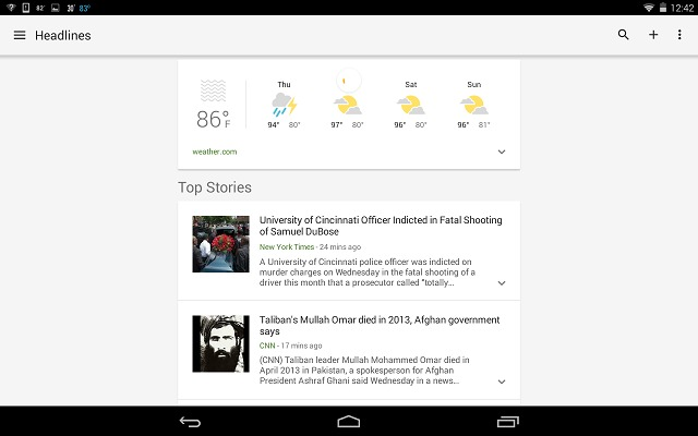 google-news-weather