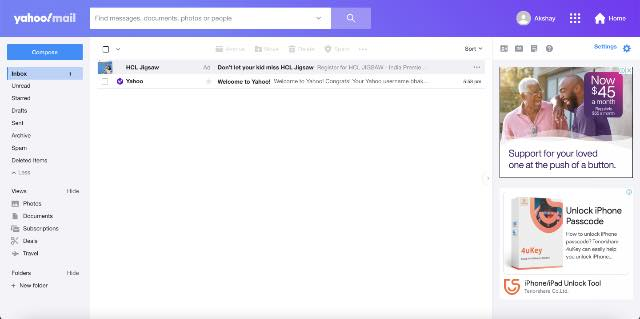 yahoo best free email providers