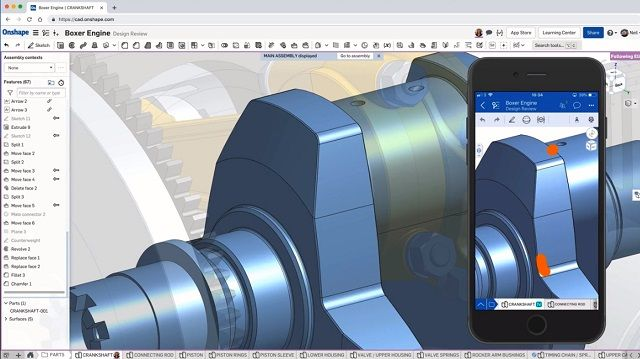 1. Onshape free cad software