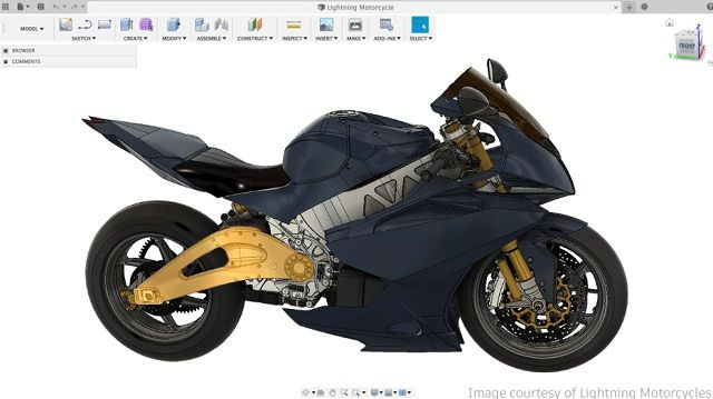 2. Fusion 360 free cad software