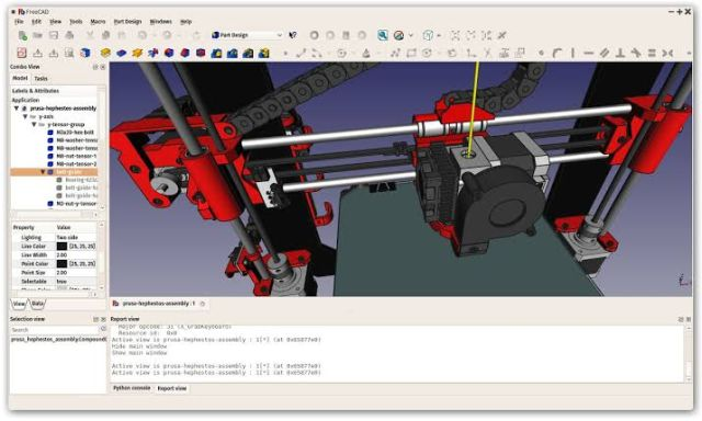 4. FreeCAD free cad software