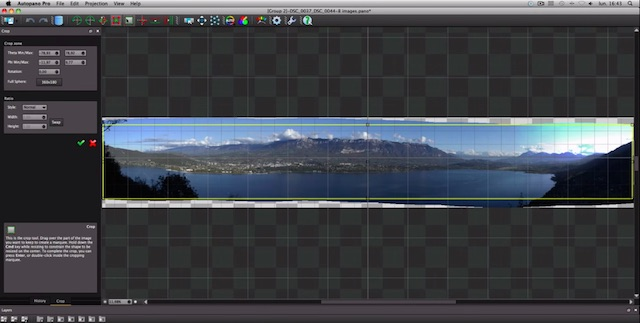 panorama stitching software for mac os x
