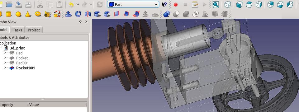 FreeCAD An Open Source parametric 3D CAD modeler