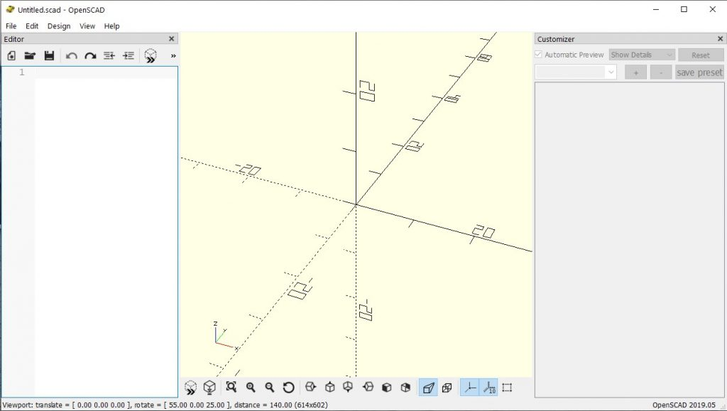 OpensCad free cad software