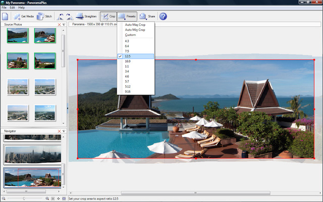 PanoramaPlus X4 photo stitching software (1)