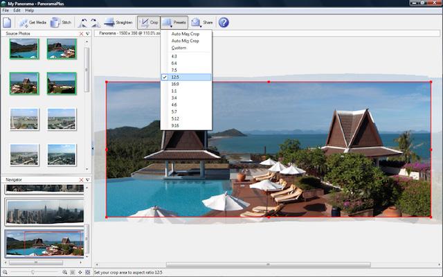 PanoramaPlus X4 photo stitching software (1)