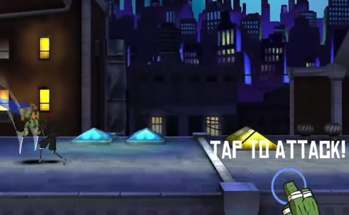 Teenage Mutant Ninja Turtles Rooftop Run