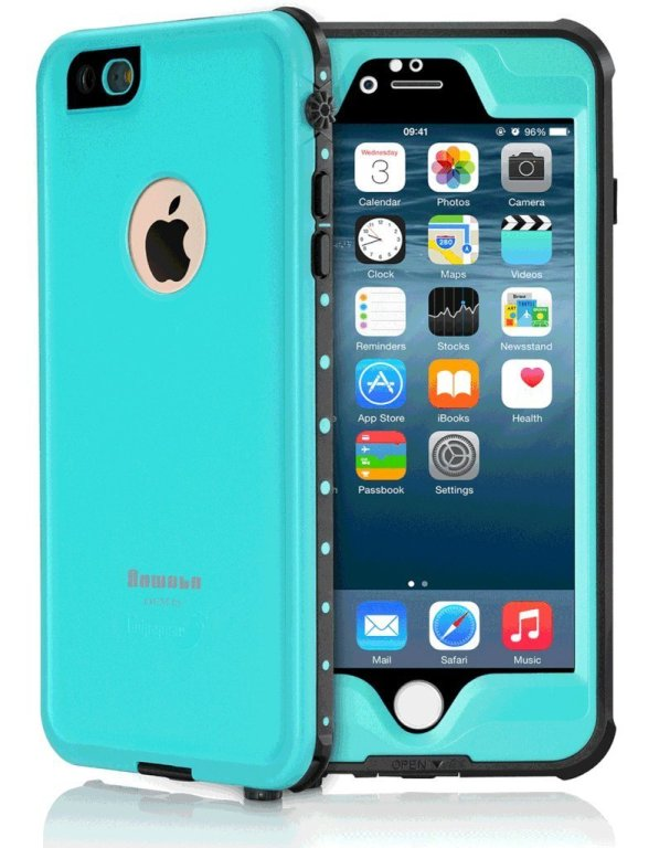 AOWOTO Waterproof iPhone 6s Plus Case