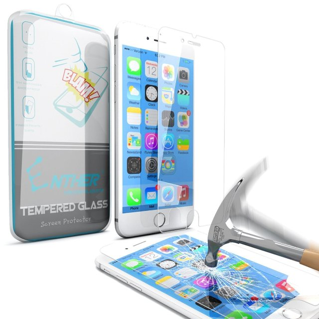 Enther iPhone 6s Tempered Glass Screen Protector