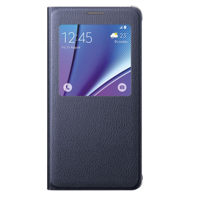 Galaxy Note 5 S-View Flip Cover from Samsung