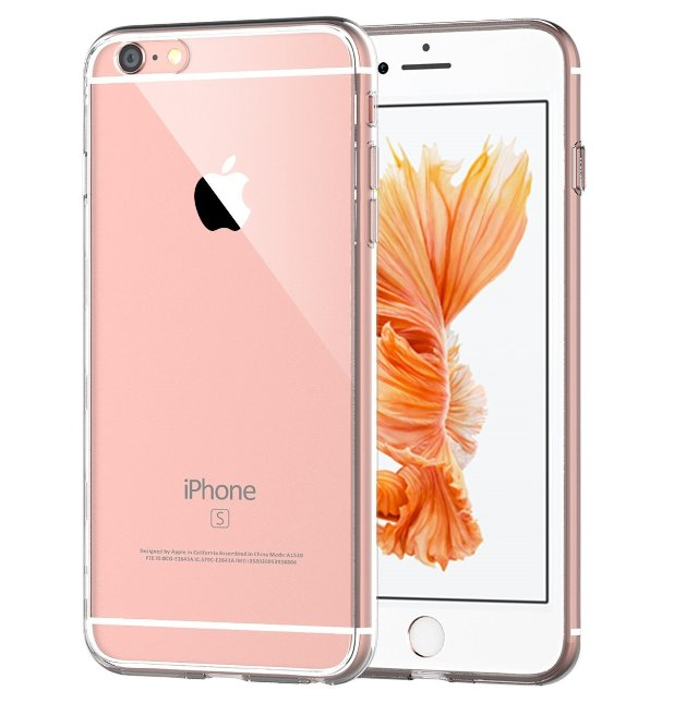 JETech Clear Back iPhone 6s Case