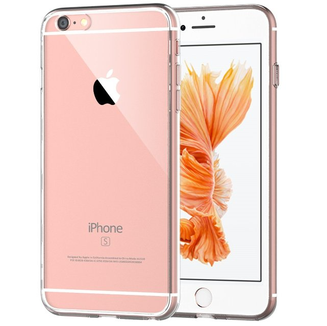 JETech Clear Back iPhone 6s Plus Case
