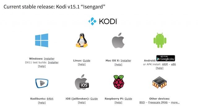 Kodi-Download