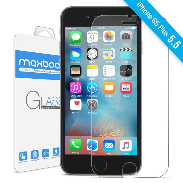 Maxboost Tempered Glass iPhone 6s Plus Screen Protector