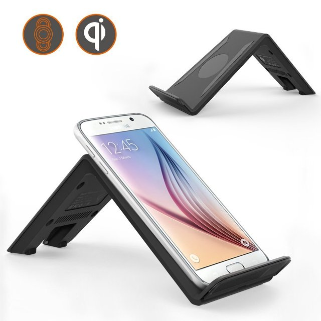 MoKo Qi 3-Coil Charging Pad Stand