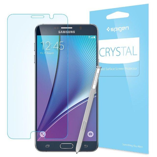Spigen Crystal Full HD Galaxy Note 5 Screen Protector