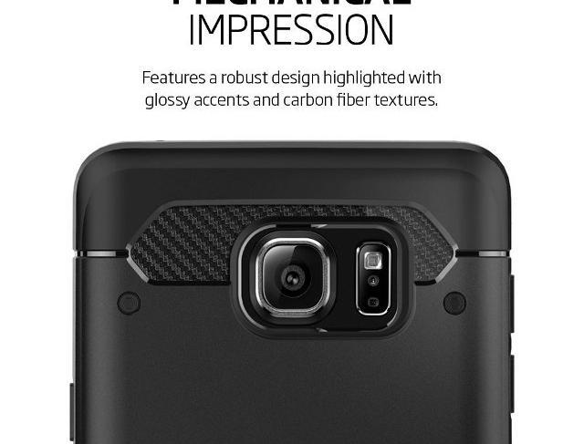 Spigen Rugged Armor Galaxy Note 5 Case
