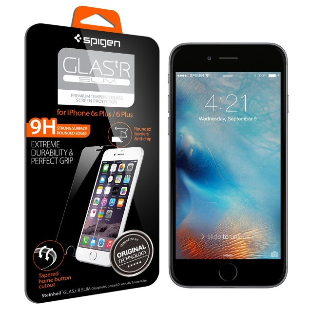 Spigen Tempered Glass iPhone 6s Plus Screen Protector