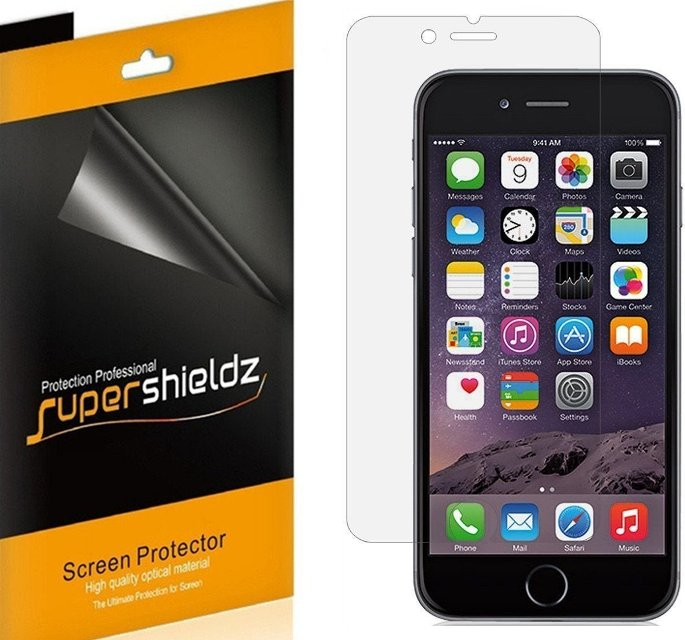Supershieldz Clear iPhone 6s Plus Screen Protector