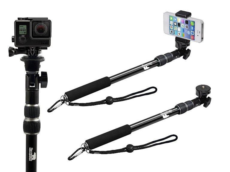 The Alaska Life Selfie Stick & Camera Monopod