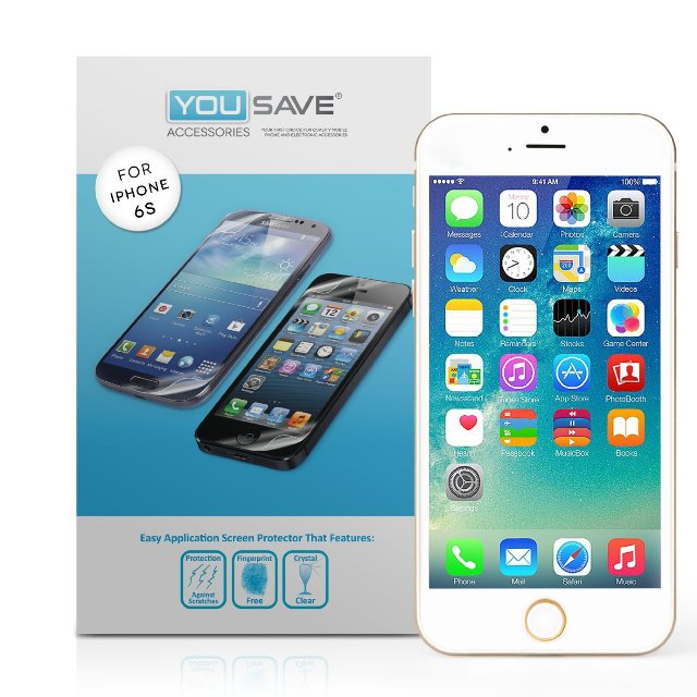 Yousave Accessories iPhone 6s Screen Protector