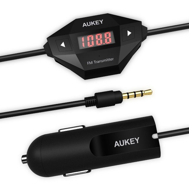Aukey FM Transmitter for iPhone 6s