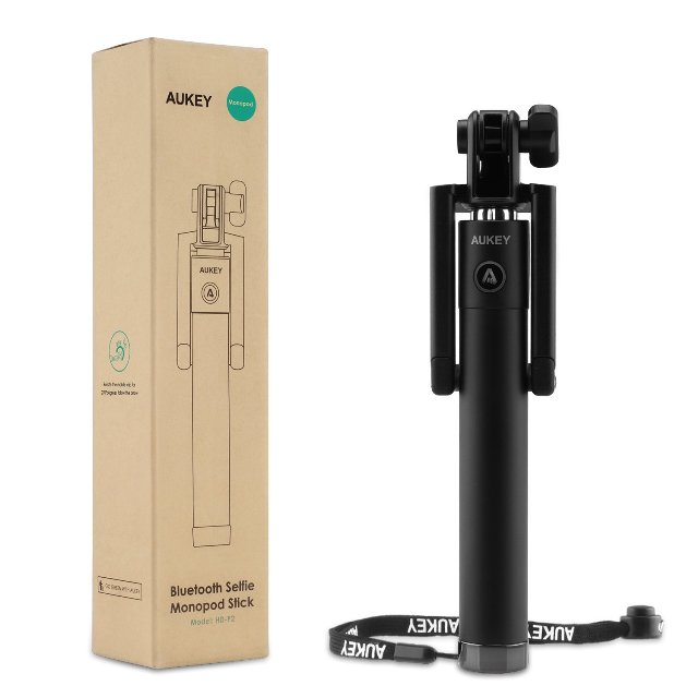 Aukey One-Piece Bluetooth Selfie Stick